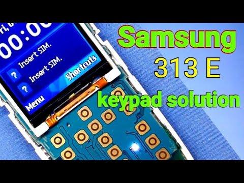 Samsung b313e keypad ways full solution /samsung b313e keypad