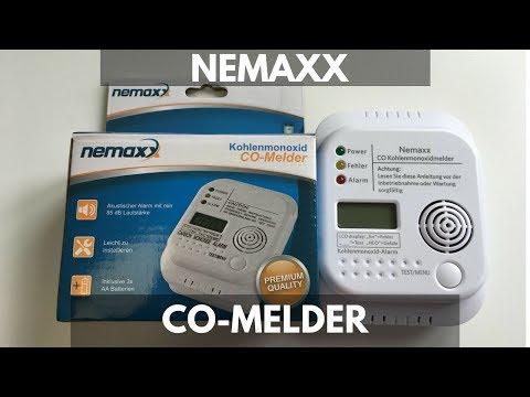 CO-Melder Nemaxx - Informationen und Montage