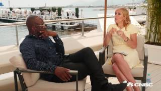 Cannes Lions: Tania and Wyclef Jean talk music, tech and Trump! (video)