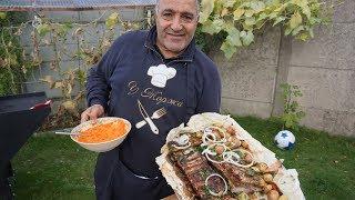Новый рецепт шашлыка из свиной ребрышки по-армянски на мангале. Рецепт от Жоржа