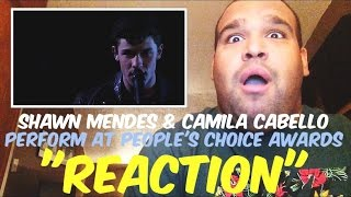 Shawn Mendes and Camila Cabello 2016 People's Choice Awards Performance [REACTION]