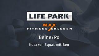 Training mit Ben 01 – Beine/Po – Kosaken Squat
