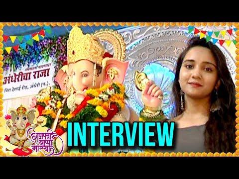 Ashi Singh aka Naina Ganpati Pandal Visit | Ashi S