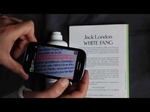 Video of Magnifier Reading glass