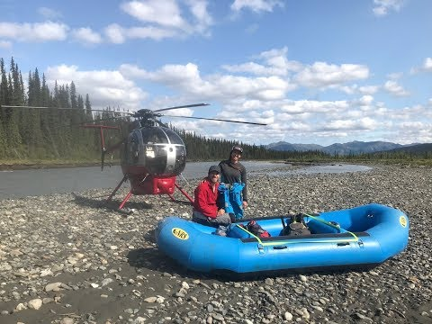 Soul Rafter ep. 11 - Helicopter shuttle on the Nenana