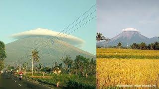Fenomena Unik Gunung Semeru Bertopi, Ini Penjelasan Sutopo hingga Saran untuk Foto Pre Wedding