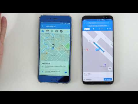 Google Maps cho phép chia sẻ vị trí trực tiếp, iOS VN chưa dùng được