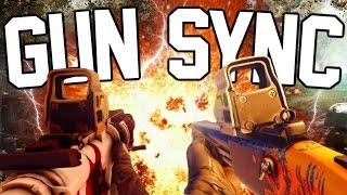 Gambar cover INSANE RAINBOW SIX SIEGE GUN SYNC!