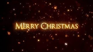 After Effects Tutorial - Christmas Text Animation in After Effects