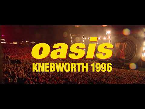 Oasis Knebworth 1996 - bande-annonce Pathé Live