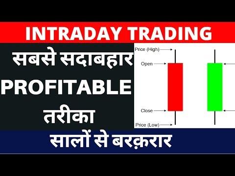 Intraday trading - सबसे सदाबहार PROFITABLE  तरीका - सालों से बरक़रार - Intraday trading strategies