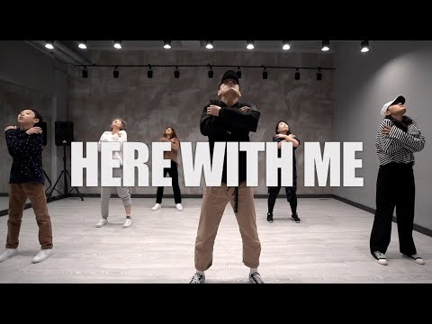 Marshmello Ft. CHVRCHES - Here With Me / Jin.C Choreography