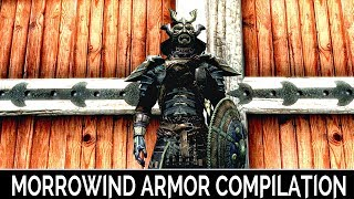 Skyrim Special Edition: ▶️Morrowind Armor Compilation Standalone◀️ Mini Mod Showcase