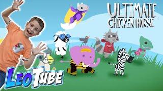 ANIMALES TRAMPOSOS con Mikel y LEO