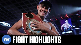 Emanuel Navarrete Knocks Villa Down Twice, Becomes Two-Division Champion | FIGHT HIGHLIGHTS