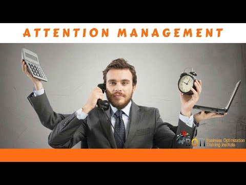 ATTENTION MANAGEMENT TRAINING COURSE - YouTube