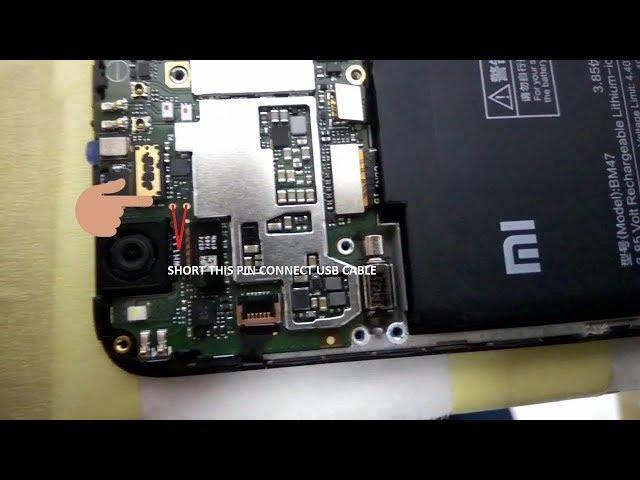 EDL Redmi 4x (Santoni) Test Point
