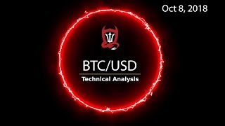Bitcoin Technical Update (BTC/USD) : Hurry Up and Wait...  [10.08.2018]
