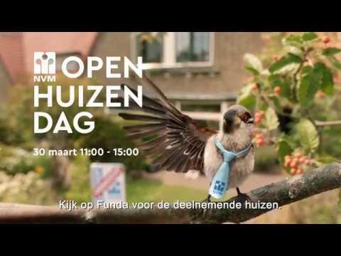 Jip de Huismus presenteert de NVM Open Huizen Dag