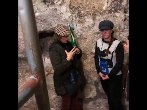 Visitando a Tumba de Lázaro em Betânia