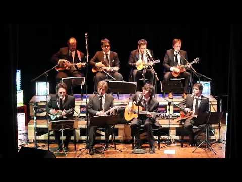 Sinfonico Honolulu - ukulele orchestra - These Boots Are Made For Walking (Nancy Sinatra cover)