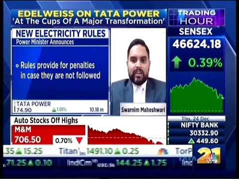 MD & CEO of Tata Power,   Mr. Praveer Sinha shares his views on the new electricity rules