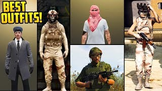 20+ AWESOME SMUGGLER'S RUN DLC OUTFITS! (WW2, Vietnam & Modern Military Outfits)