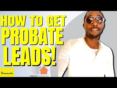 How To Get Pre Probate Leads (Deceased Owners) Online With Propstream