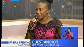 GUEST ANCHOR: Actress Celestine Gachuhi (Selina) talks about her professional life