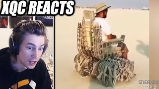 xQc Reacts to 😂WHOA DUDE COMPILATION!!!😂  | with Chat