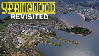 Visiting My First City | Cities Skylines: Springwood Tour