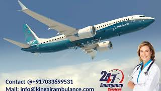 Get Reliable King Emergency Air Ambulance from Dimapur to Delhi