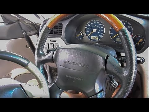 Steering Wheel Replacement - 2003-06 Subaru Baja