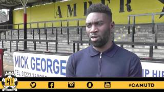 Jabo Ibehre looking forward to notching for the U's ⚽️⚽️⚽️ CamUTD
