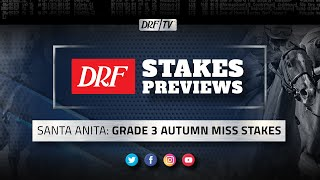 Grade 3 Autumn Miss Stakes Preview 2020