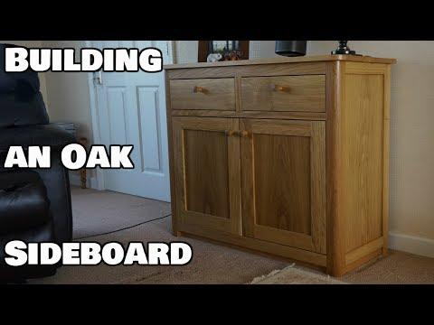 How to make an oak sideboard