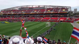 เพลงชาติไทยครั้งแรกในฟุตบอลโลกหญิง