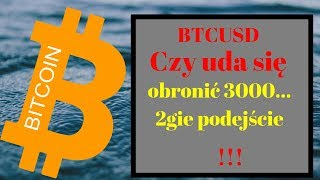 Bitcoin: Ponowny test 3k ? Analiza BTC 13.01.2019