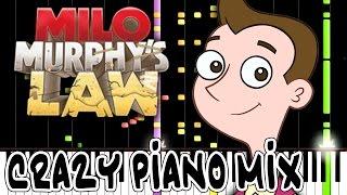 Crazy Piano! MILO MURPHY'S LAW THEME