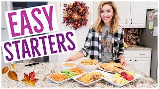3 EASY APPETIZER RECIPES!!
