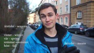 Learn Swedish, Lesson 6: Seasons