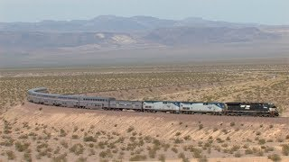 HD: Needles And Cima Subdivision Railfanning In May 2014