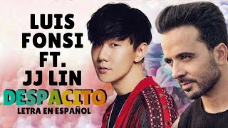 JJ LIn (林俊杰) Despacito 緩緩 (Mandarin Version/ Audio) ft.Luis Fonsi  /Sub Español/Pinyin/Chino