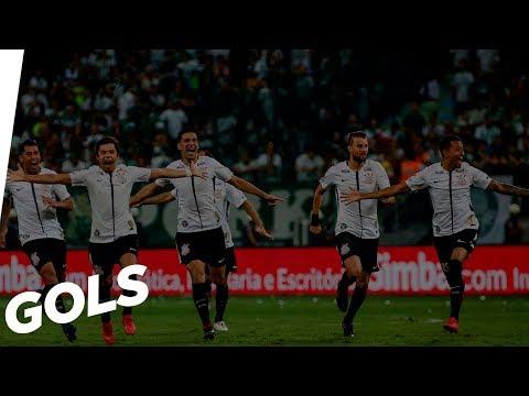 Gols - Corinthians 1 (4x3) 0 Palmeiras - Paulistão 2018