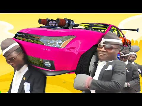 FUNERAL COFFIN DANCE MEME COVER #32 - ASTRONOMIA SUPER COVER - BeamNG Drive