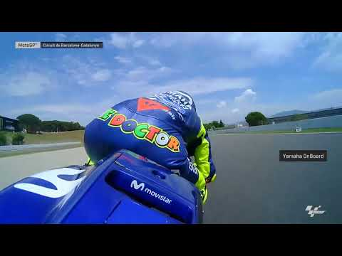 Catalan GP: Yamaha OnBoard