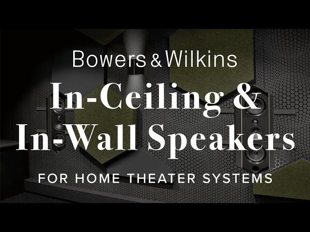 Video of Bowers & Wilkins CCM 663