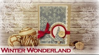 XMAS SERIES: Winter Wonderland Card