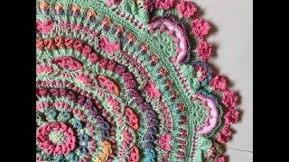 2020 Crochet Mandala Part 13 (Rnds 60-64)