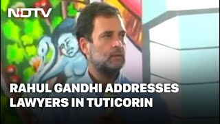 RSS Destroyed Institutional Balance In The Country: Rahul Gandhi
